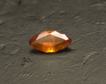 Orange Hessonite Garnet -- 1.12 Carat Marquise