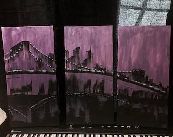 CANVAS - Freehand of Brooklyn Bridge
