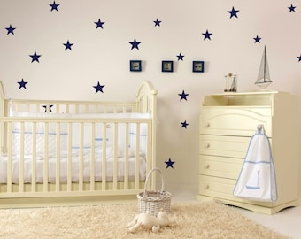 Wall Decals for Kids - Nursery Wall Stickers  - Vinyl Star Decals 0026