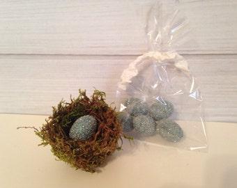 Nest Green Moss Nest Handmade