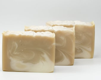 Cashmere and silk handcrafted luxury soap  coconut milk soap, olive oil soap, soap with silk, cocoa butter and shea butter soap, handmade