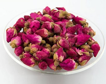 Free Shipping!Dried Red Rose Buds,Chinese Herbal Tea