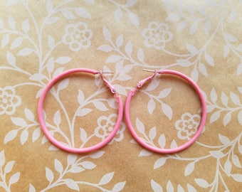 Candy Hoops (Bubble Gum Pink)