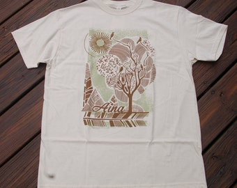 Aina Clothing Men's Organic Cotton Forest Tee