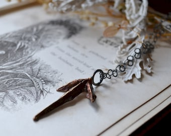 Cast Bronze Tiwaz Rune Necklace