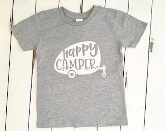 Happy Camper vintage camper tee