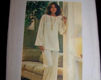 Lounge PJ's sewing pattern--Butterick size Small--Butterick 4554