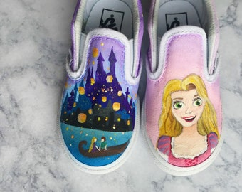 Disney Inspired Hand Painted Toddler Shoes