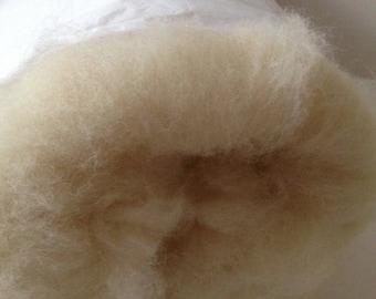 100% wool sheep Batting  Roving  Stuffing Needle Felting 14 oz