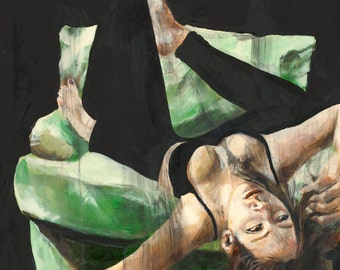 Art Print - The Memories that Haunt Us - Giclee Art Print, Large Art, Affordable art