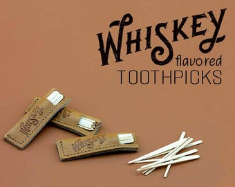 Whiskey Flavored Toothpicks Made In USA