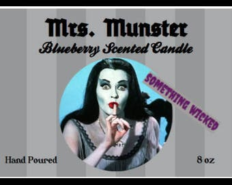 Lily Munster Inspired Candle