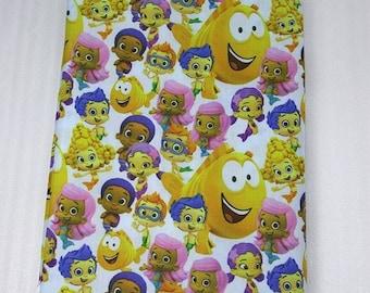 mix bubble guppies fabric
