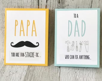 DAD Card for Father's Day | DAD Card for Birthday | Rae Dunn Inspired