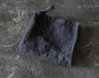 Waffle Linen Wash Cloth/ Face Cloth