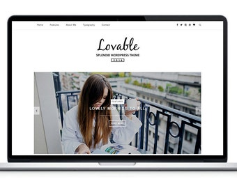 Lovable - Clean Responsive Wordpress Theme | Blog Template