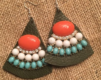 Recrafted revamped earrings