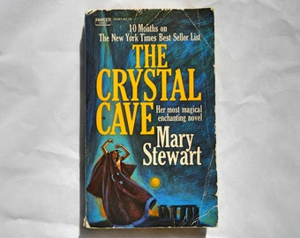 The Crystal Cave by Mary Stewart Vintage Paperback Book