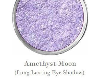 "Long Lasting Eye Makeup by Mattify Cosmetics Pastel Lavender Purple Eye Shadow for Summer / Spring ""Amethyst Moon"" Eye Liner"