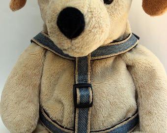 Denim Step-In Dog Harness