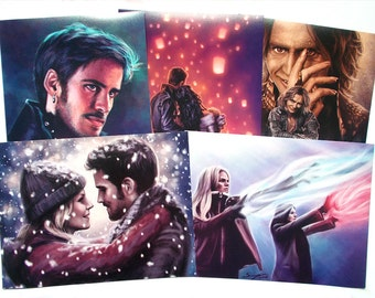 """Once Upon A Time 8x6"""" photo prints"""