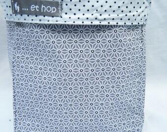 laminated cotton and cotton reversible cotton basket