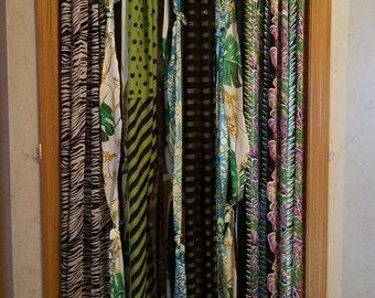 Boho Door Curtains Bohemian Curtains Hippie Door Curtains Boho Curtains Black White Blue Green Gypsy Curtains Closet Door Curtains