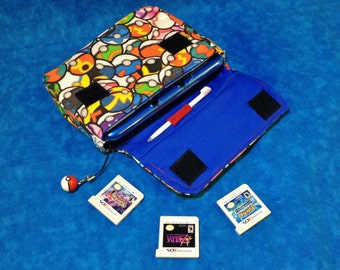 MADE to ORDER - Pokeball 3DS / 3DS XL / New 3DS Carrying Case
