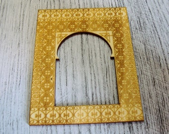 Photo frame wooden Littles 1304 embellishment