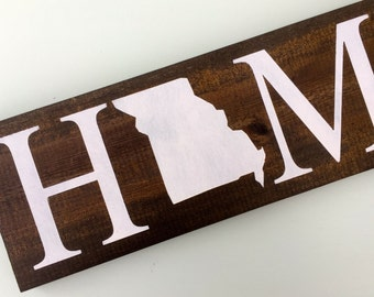 Custom State Sign, Rustic Home State Wood Sign, Wooden State Sign, Rustic Home State Decor, custom sign, wooden sign. wood sign, custom art