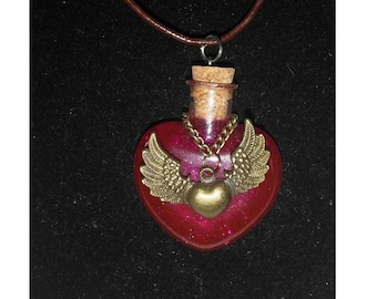 Harry Potter Inspired Amortentia Potion Necklace