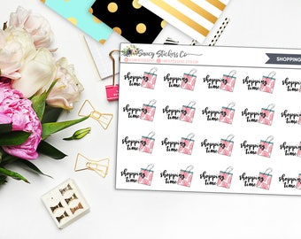 Shopping Time Planner Stickers