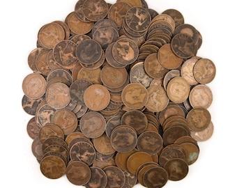10 Great England Britain United Kingdom British 1 Penny UK Coins