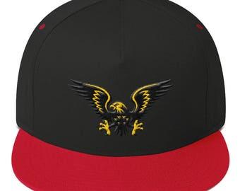 Eagle Flat Bill Cap