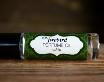 Cabin Perfume Oil - Cedar, Fir Needle, Campfire Smoke