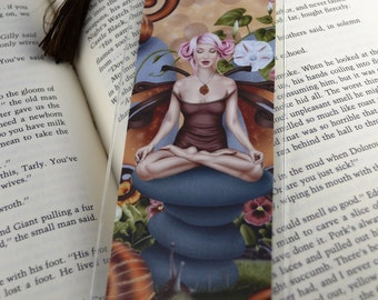 Bookmark Snail Fairy - The Muse