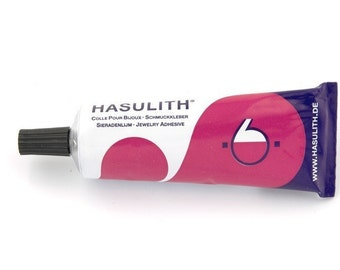 Hasulith glue in a tube for jewelry 30ml