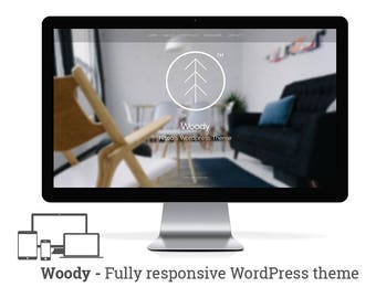 Woody -  responsive Minimal Wordpress Portfolio