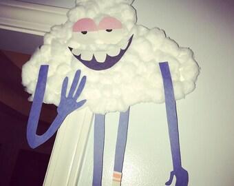 Trolls Movie Cloud Guy Party Decor/Cloud Guy Party Decor/Trolls Movie Prop