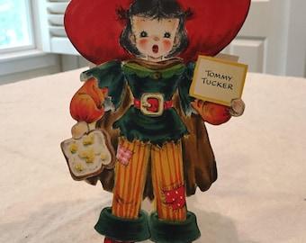 Tommy Tucker 1947 Hallmark Doll Card