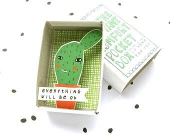 Kaktus - Instant Komfort Pocket Box - wird alles in Ordnung sein! -aufmuntern und Trost-Box