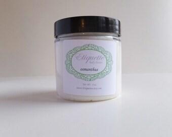 Osmanthus body butter 4 oz jar Paraben Free