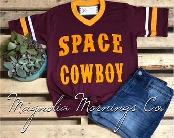 Space Cowboy Retro Shirt