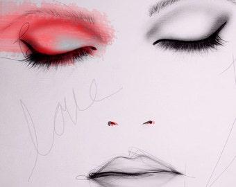 Scarlet - Art Print