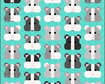 Elephant Parade Quilt Pattern Pdf Instant Download Modern