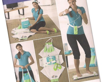 SIMPLICITY PATTERN 2438 wii fit accesories, one size fits all, new and uncut
