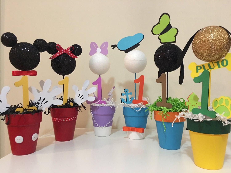 Centros de mesa Mickey Mouse Clubhouse Todos los 6