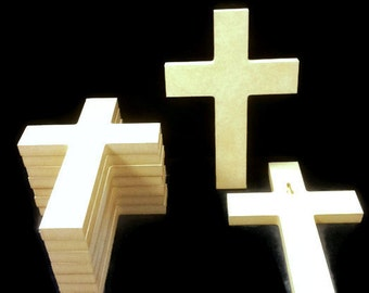 100 Unpainted 6'' x 9'' Crosses, Great for VBS, Free Shipping VBS100-1