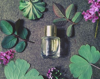 """Natural Lilac Rose Perfume Oil """"Lila"""" with Heliotrope, Rose, Lilac, Natural Lilac Perfume Rose Perfume  Gift for Her"""