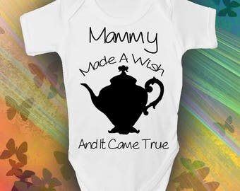 Mammy Made A Wish Baby Grow - Trendy - Cool